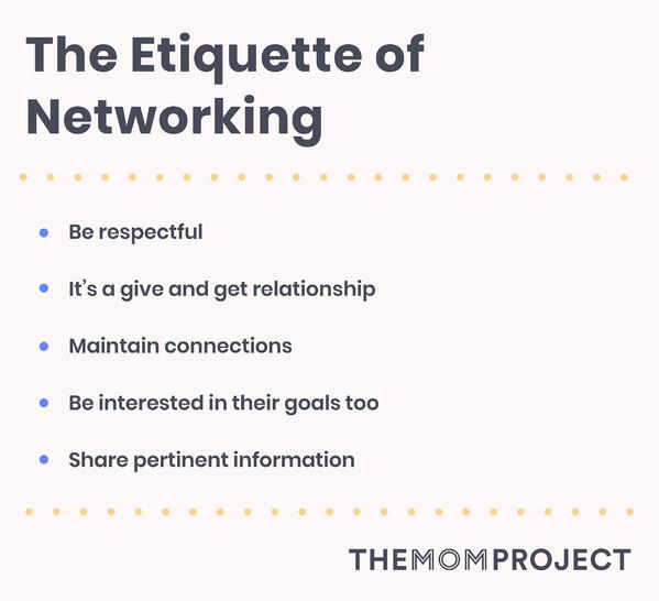The Etiquette of Networking.