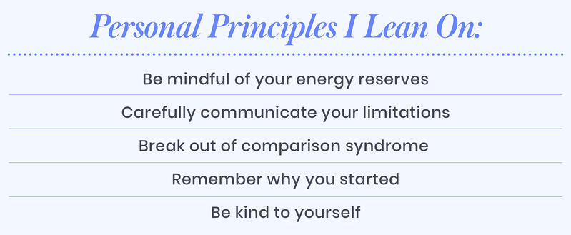 Personal principles Brandi leans on