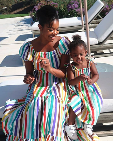 Gabrielle Union with daughter
