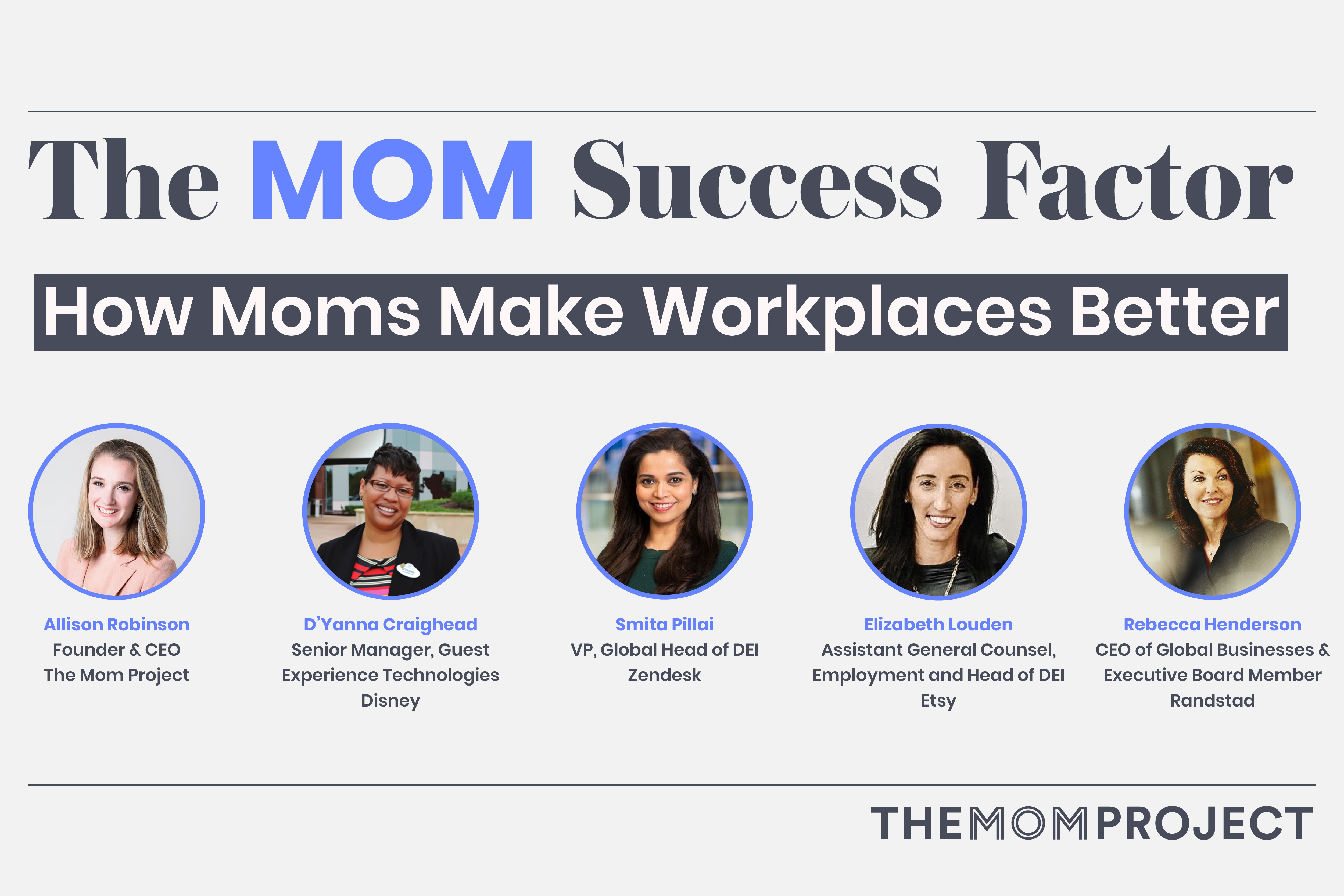 Real Talk From Mom Bosses: How Companies Can Support Working Moms