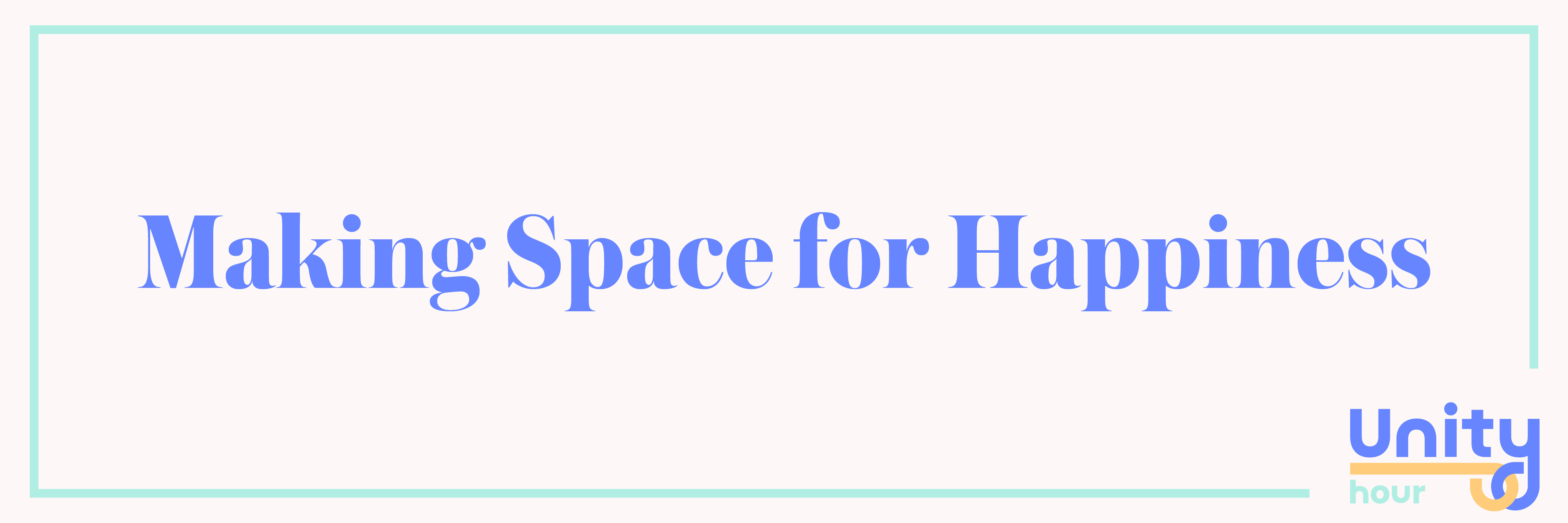 Go On: Make The Space